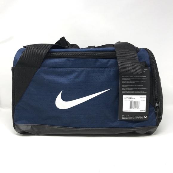 19f8d1518d3069 Nike Bags | Authentic Unisex Brasilia Duffel Xs In Navy | Poshmark
